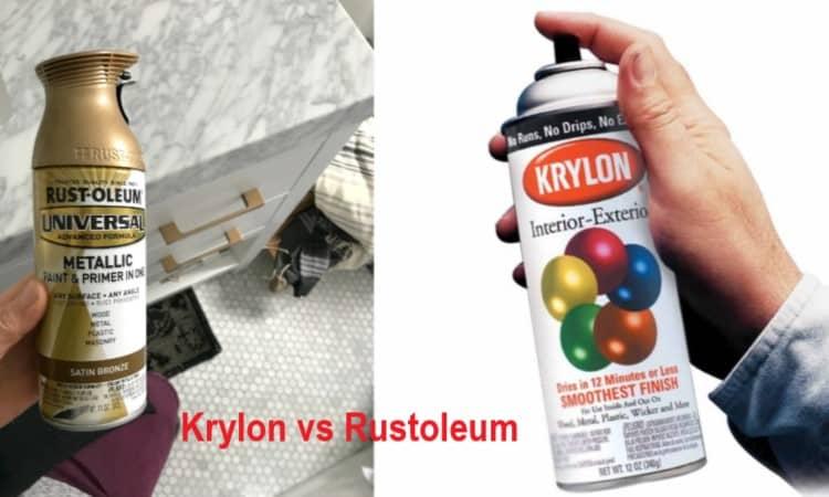 Krylon Vs Rustoleum Which Is The Best